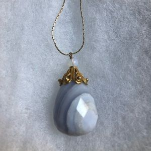 Giu Giu Boutique Lavender Quartz Necklace